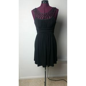 Love Tease Satin Looped Neck Line Dress size S